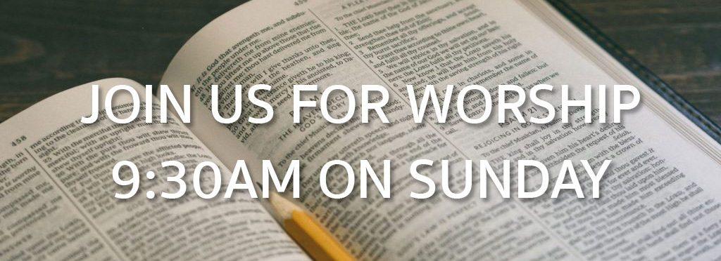 sunday worship at bentheim reformed church
